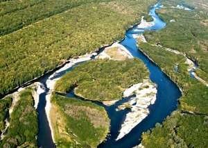 На путях миграции рыб на Камчатке в реке Авача отразился ремонт газопровода