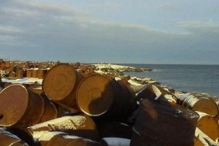 На острове под названием Греэм-Бэлл в Архангельской области находится около 300 000 тонн неутилизированного топлива