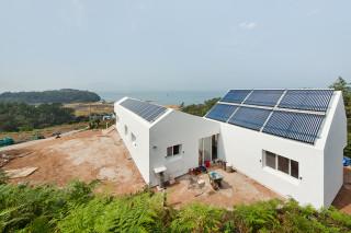 Энергоположительный дом в Корее