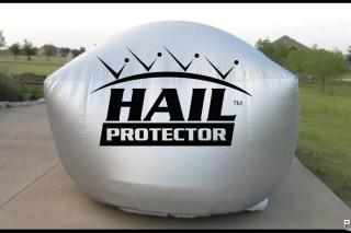 Автомобильная подушка безопасности, которая защищает от града — Hail Protector