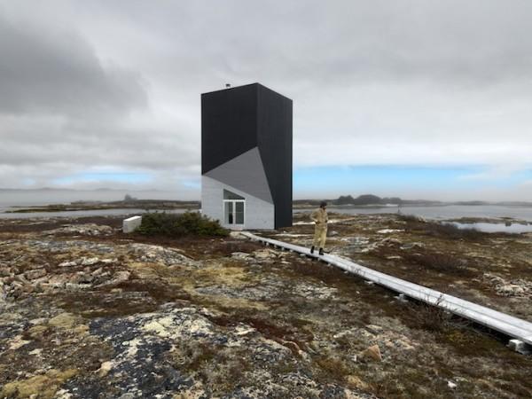 Tower Studio: однокомнатная башня