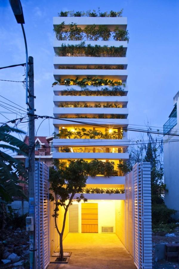 Зеленая башня