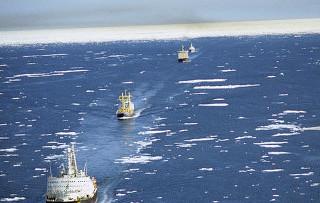 К 2050 году довольно быстрое изменение климата может серьезно «перекроить» в Арктике судоходство