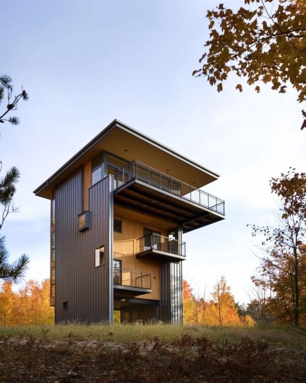 Дом-башня у Великих озер