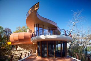 Дом на холме в Висконсине