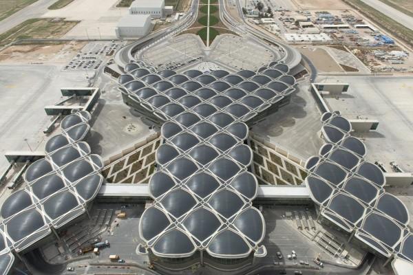 Энергоэффективный терминал в аэропорту Аммана