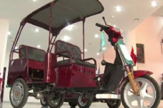 Казахские студенты создали электромобиль