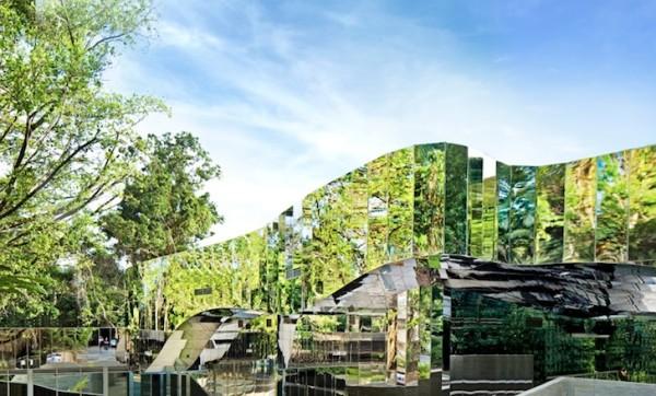 Информационный центр в ботаническом саду Кэрнса