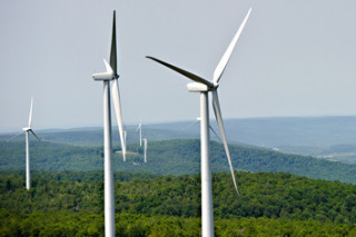 На Ботиевской ВЭС готовится к запуску вторая очередь турбин «Винд Пауэр»