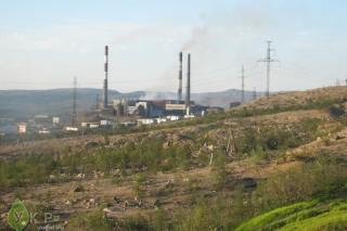 В одном из поселков Мурманской области концентрация диоксида серы в воздухе в 6 раз превысила ПДК