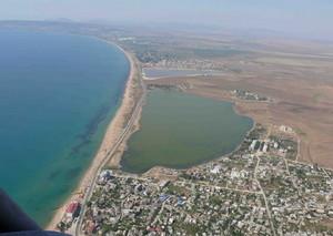 Крымское озеро Аджиголь находится на грани уничтожения