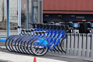 В Нью-Йорке стартовала программа проката велосипедов