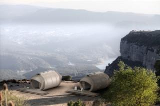 Дизайнерское бюро In-Tenta представило передвижной экоотель класса люкс