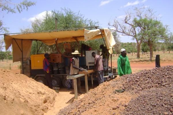Начальная школа в Мали