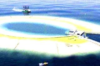 Бельгийцы для аккумуляции энергии, построят в Северном море два острова