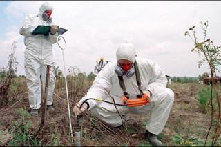 В Троицком округе Москвы неизвестные сбрасывали в почву опасные химические вещества