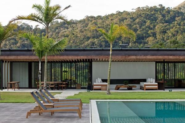 JN House: вилла в окрестностях Рио-де-Жанейро