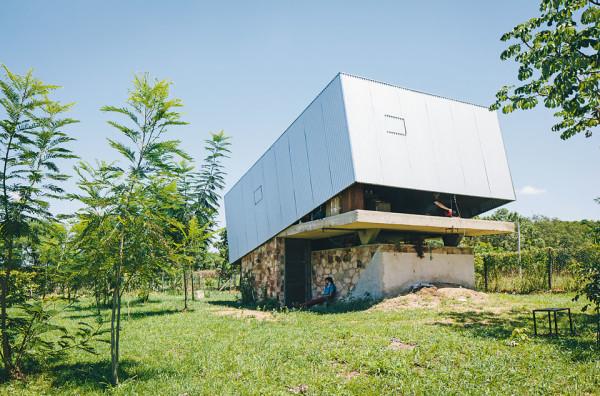Caja Oscura: дом без окон