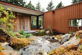 Дом из SIP-панелей в штате Вашингтон