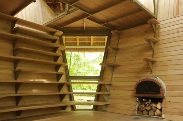 Лесной отель в Лотарингии