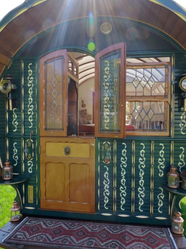 Цыганский дом-фургон