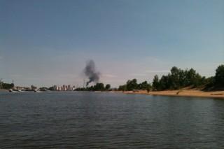 Хабаровские экологи обеспокоены черным дымом из трубы местной ТЭЦ-1