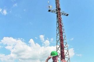 Украинский умелец построил необычную миниэлектростанцию