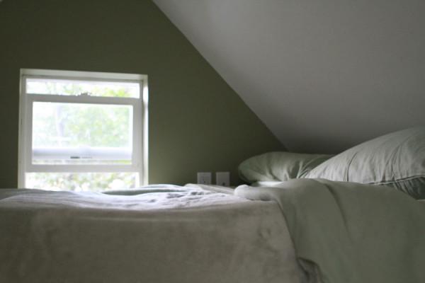 Спальное место наверху