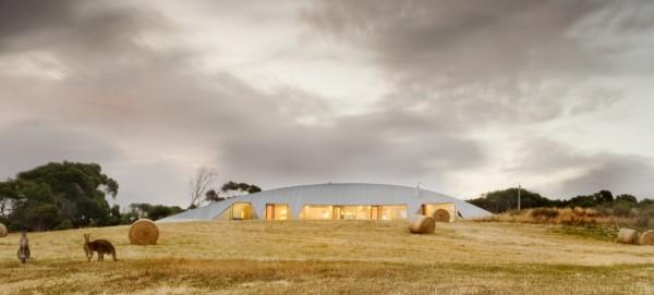 Необычный загородный дом в Австралии