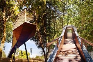 Дует португальских архитекторов создал экоотель на сваях