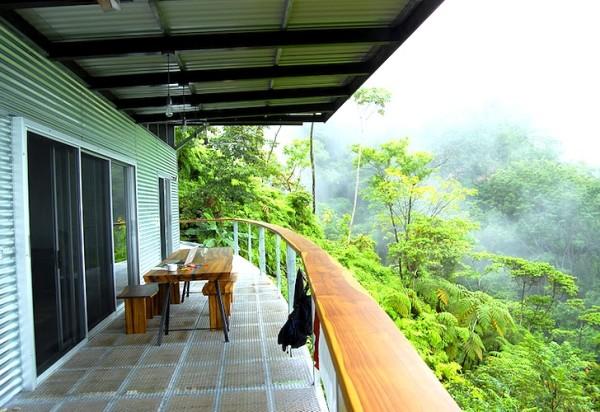 Дом в тропических лесах Коста-Рики