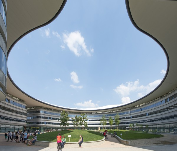 Новый кампус Туринского университета