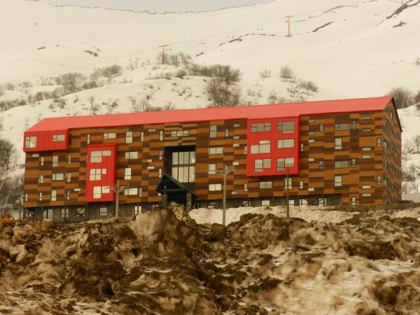 Отель в Чили обогревается с помощью подземных источников