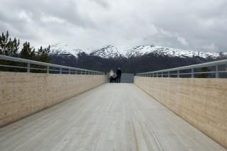 Смотровая площадка Эурланн в Норвегии