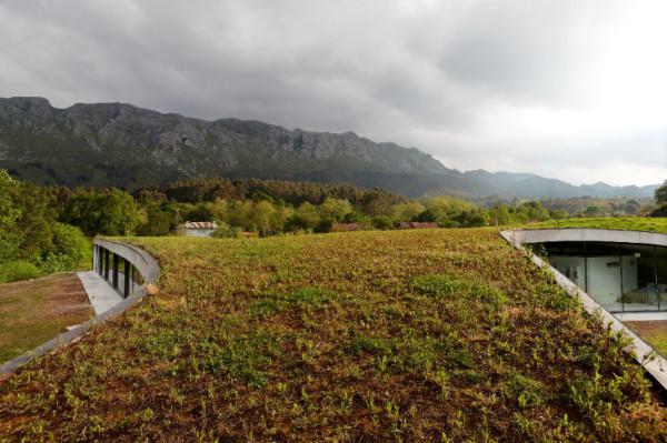 """""""Зеленая"""" гостиница в деревенской Испании"""