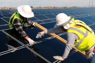 Через пять лет в США будет производится пятая часть мирового объема солнечной энергии