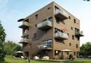 В Гамбурге построили пятиэтажный экодом Woodcube