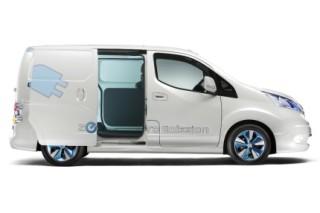 Nissan запускает в серию электрический фургон