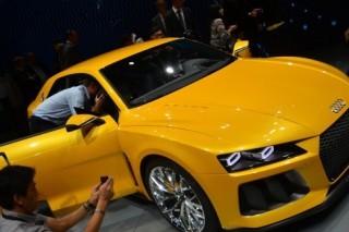 Audi привезла во Франкфурт гибридный концепт Sport Quattro