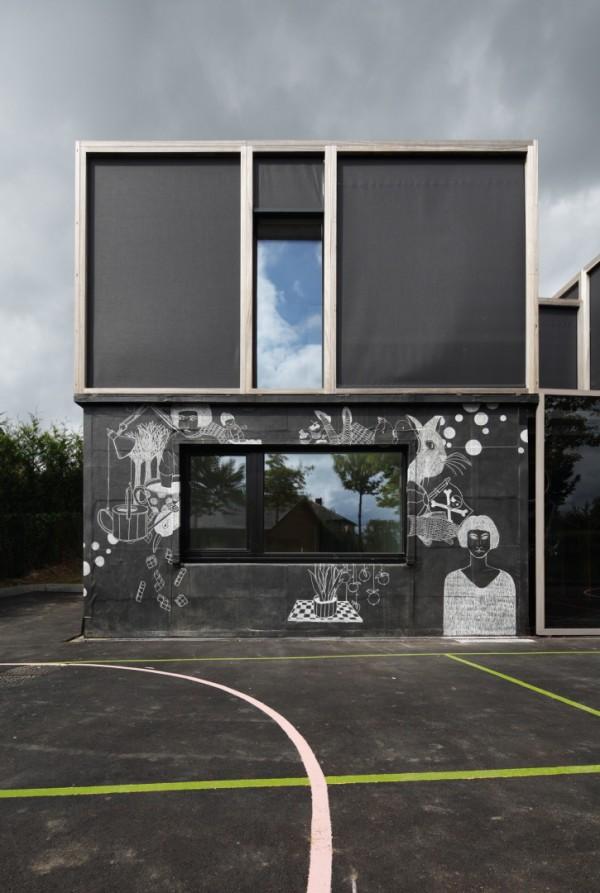 Экодом, в котором можно рисовать на стенах