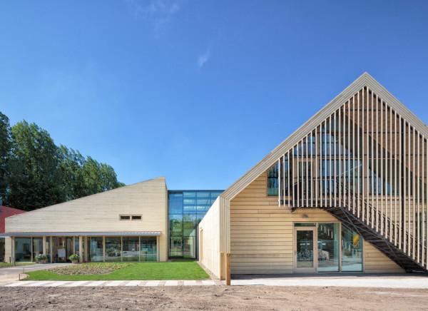 Экологичный детский сад в Голландии