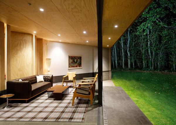 Гостевой дом для новозеландской винодельни