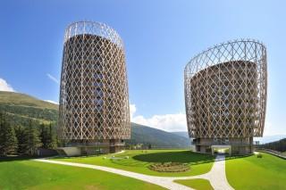 Жилой комплекс в австрийских Альпах