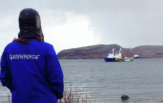 Экологи из Greenpeace, которым инкриминируют вторжение на платформу «Приразломная», арестованы на 2 месяца