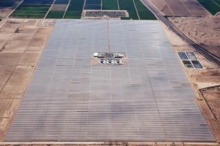 Новая солнечная электростанция работает и после заката