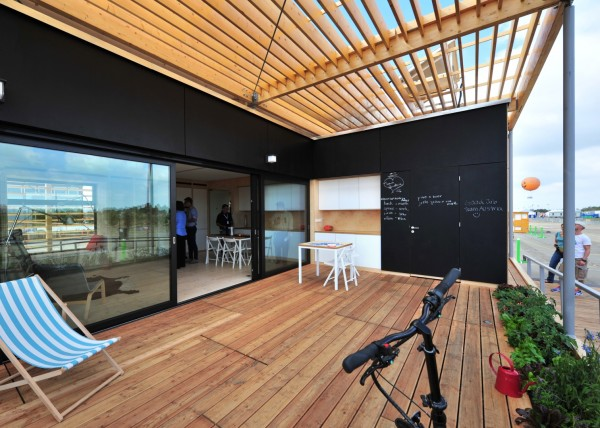 Solar Decathlon 2013: коттедж AIR House из Чехии