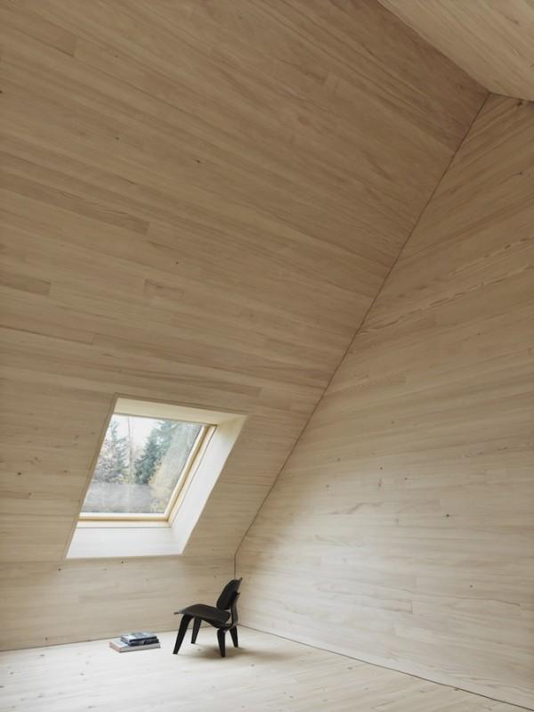 Деревянный коттедж в австрийской глубинке