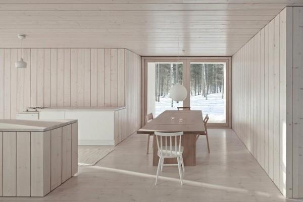 Экологичный коттедж в центральной Финляндии