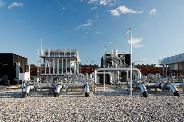 Газовая компрессорная станция в Дании