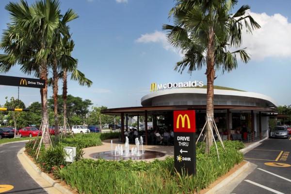 McDonald's зеленеет